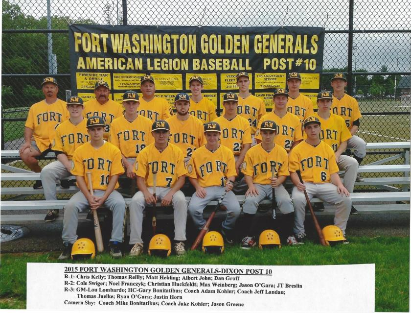 2015 Fort Washington Generals