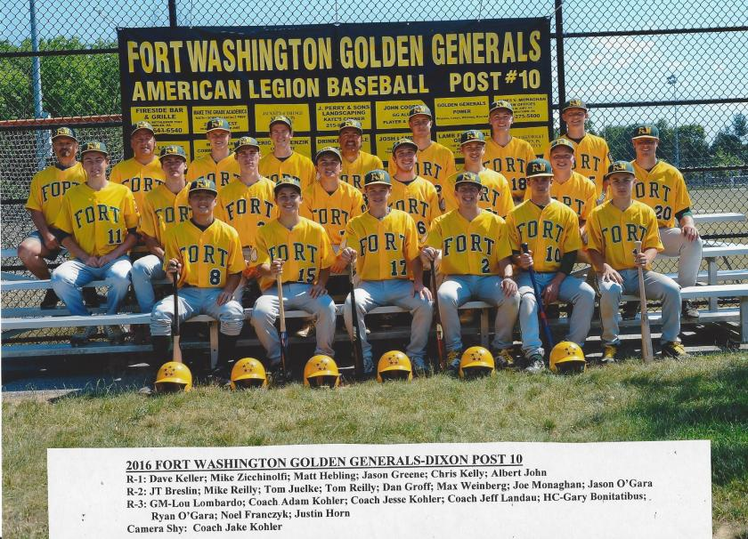 2016 Fort Washington Generals